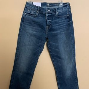 7 For All Man Kind Roxanne Classic Skinny Jeans